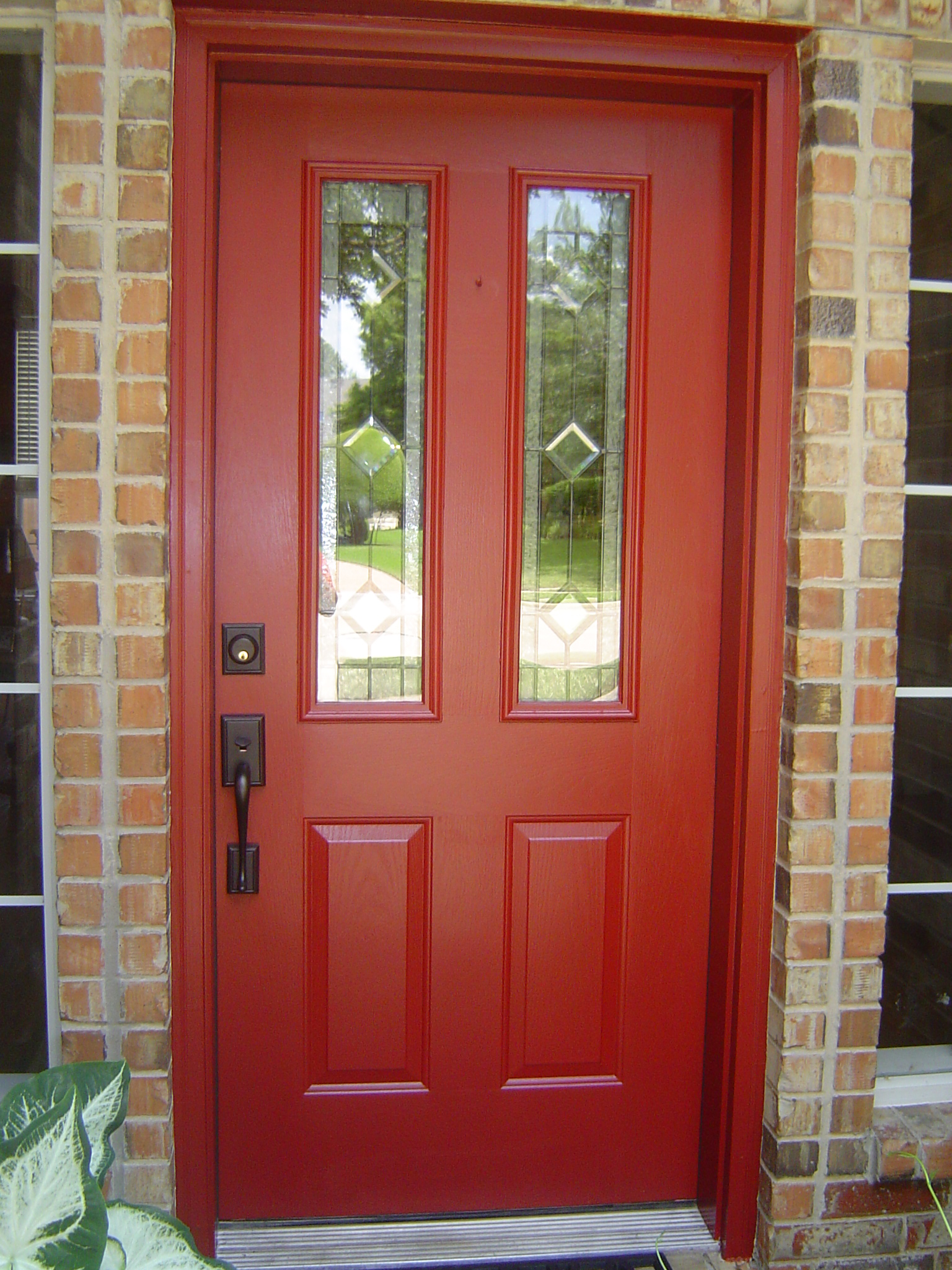 Scintillating Front Door Red Paint Gallery - Ideas house design ...