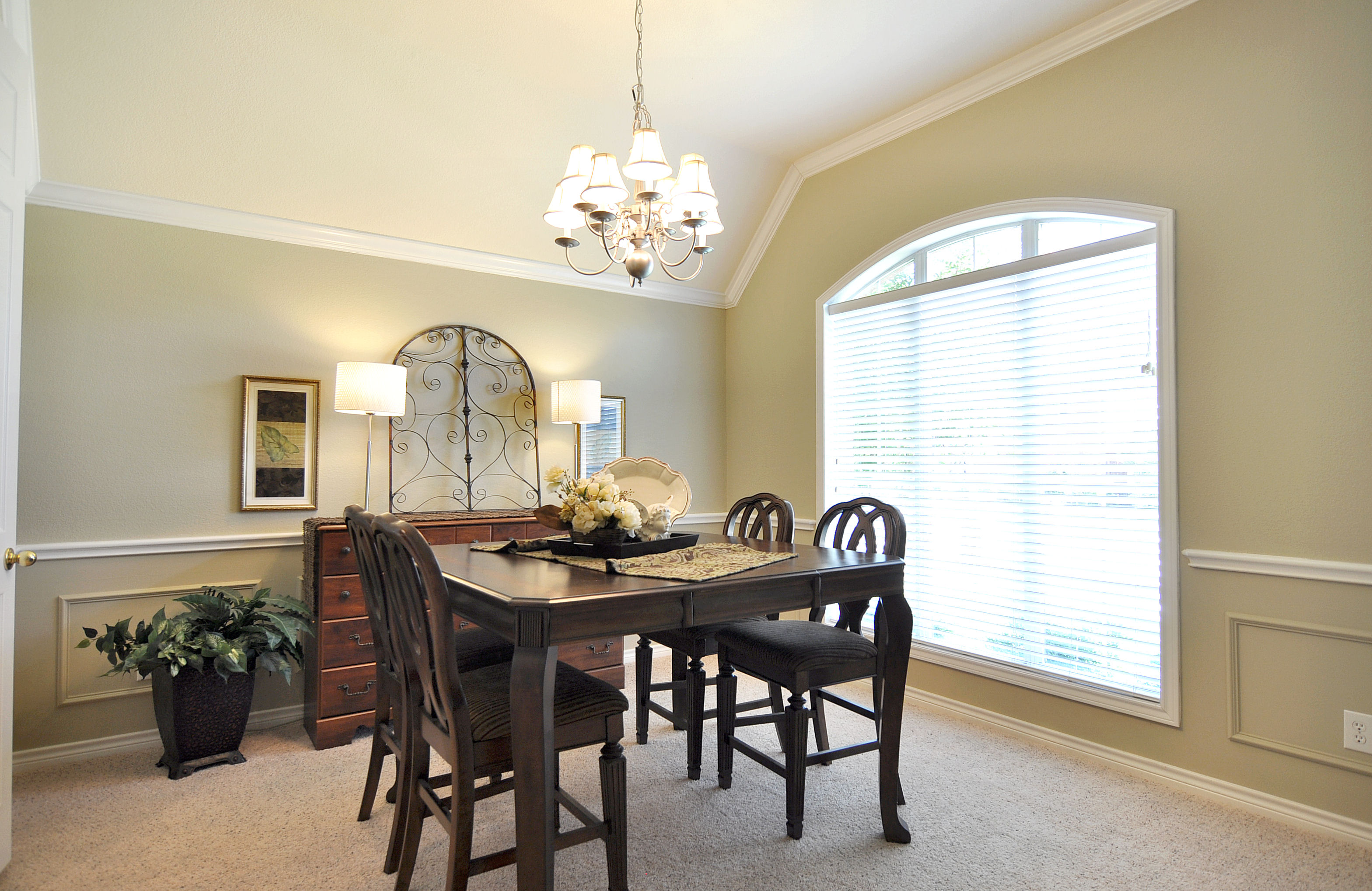 Home Star Staging Staged Then Re-Staged: A Dining Room's